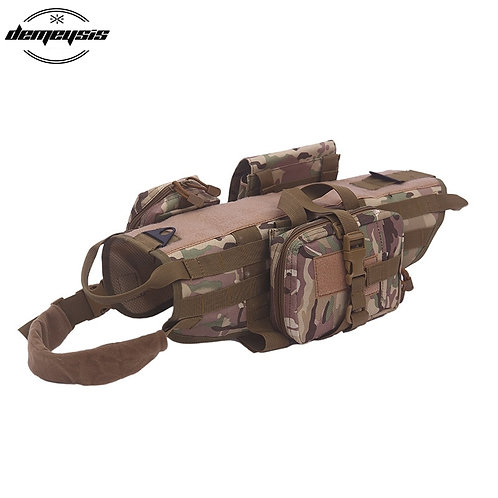 Walking Hiking Hunting Tactical Military Pet Vest Harness