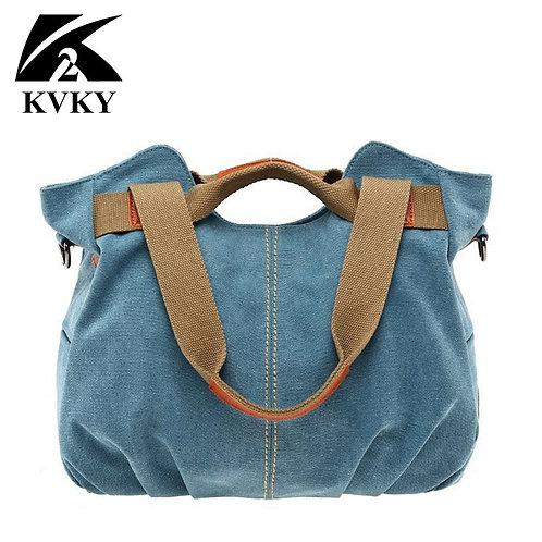 Casual Canvas High Capacity Bag