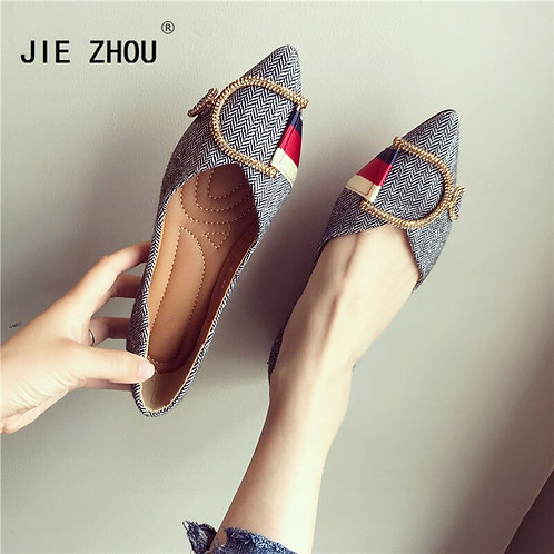 Pointed Casual Flat Shoes