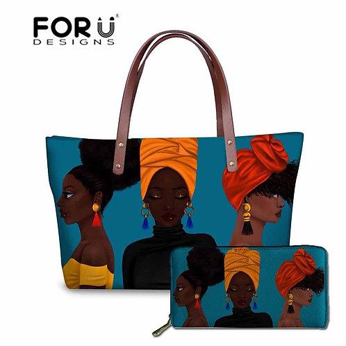 African Art Luxury Design  2pcs/Set