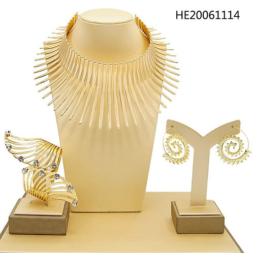 African Style Jewelry Set