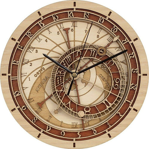 Prague Astronomical Clock  Wall Art