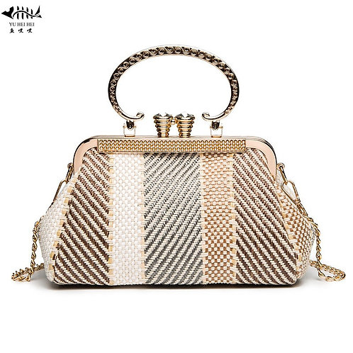Retro Vintage Luxury Shell Bags Bag With Chain