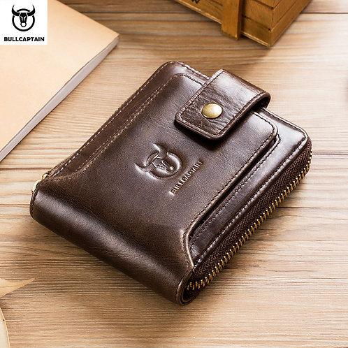 Men's Leather Wallet with RFID