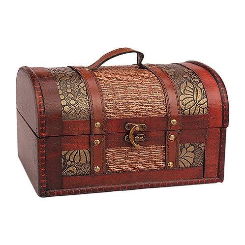 Wooden Vintage Treasure Box