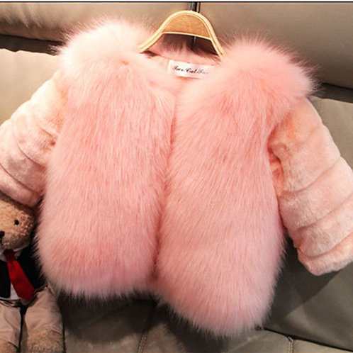 Posh Princess Faux Fur Jacket