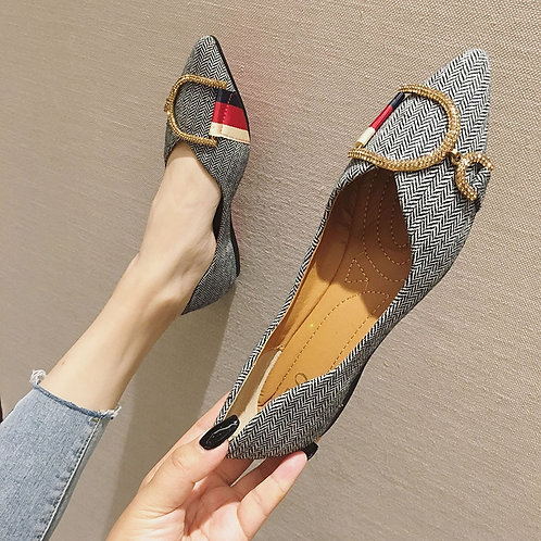 Casual &  Comfortable Pointed Toe Flat Shoes