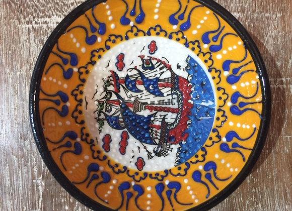 Tigela Cerâmica Relevo 10 Cm