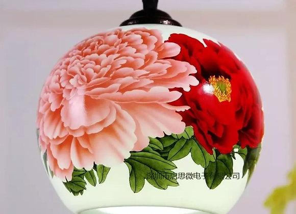 Luminária Chinesa de Cerâmica