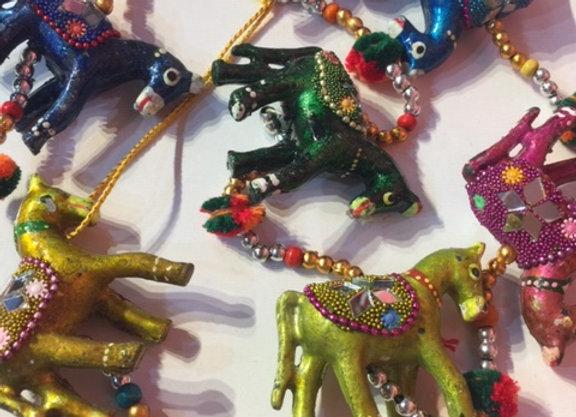 Móbile de cavalo - indiano