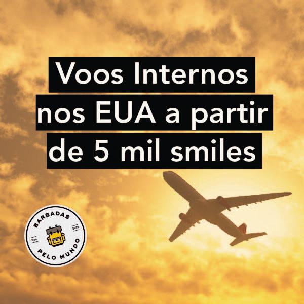 smiles voos estados unidos