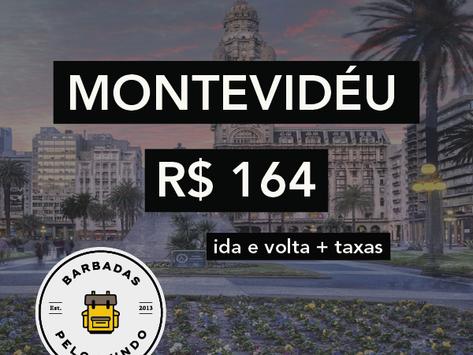 MONTEVIDÉU A PARTIR DE R$164!