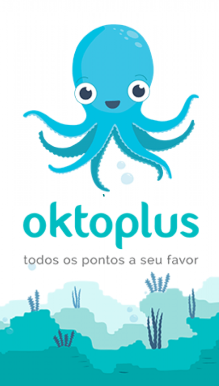 tela de inicio oktoplus