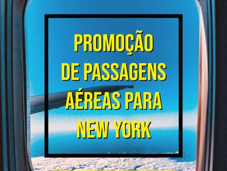 PASSAGENS AÉREAS PARA NEW YORK A PARTIR DE R$ 1010