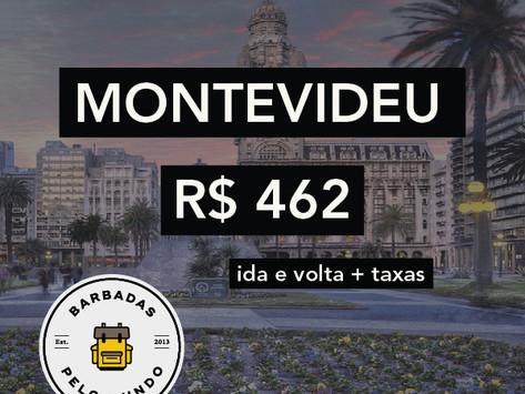 MONTEVIDEU POR R$ 462