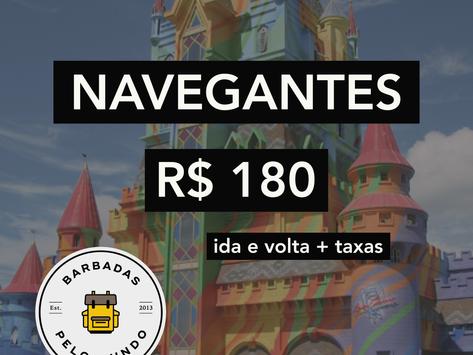 NAVEGANTES A PARTIR DE R$180