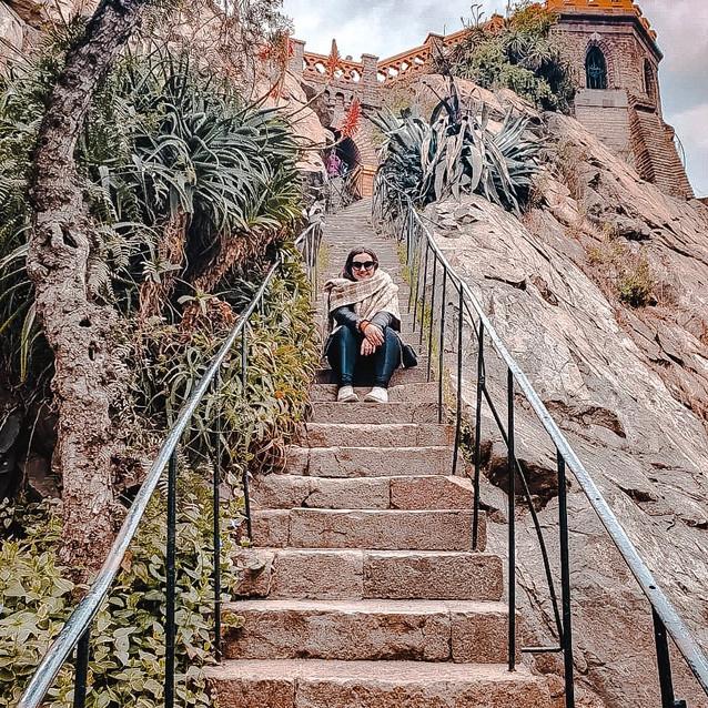 Escadaria do cerro de São Cristovão