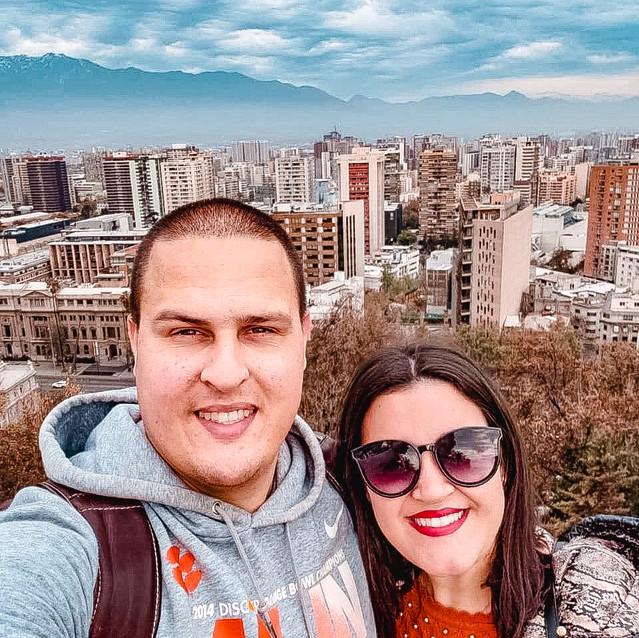 Vista do cerro de São Cristovão