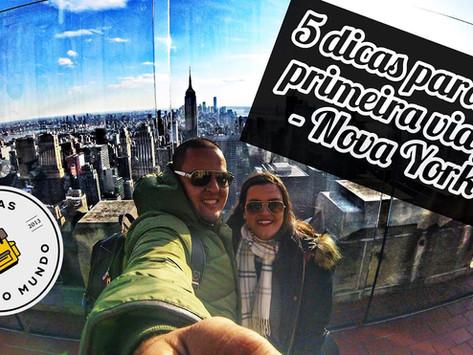 5 DICAS PARA SUA PRIMEIRA VIAGEM PARA NOVA YORK