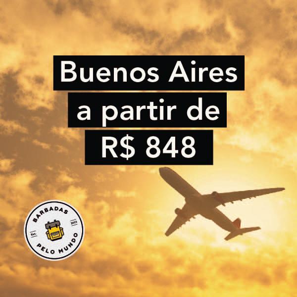 passagens aereas em promoção para buenos aires
