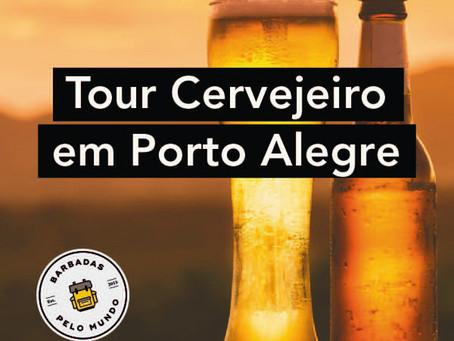 TOUR CERVEJEIRO ACONTECERÁ NESTE SÁBADO EM PORTO ALEGRE