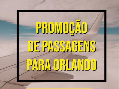 PASSAGENS AÉREAS PARA ORLANDO A PARTIR DE R$ 1131 IDA E VOLTA COM TAXAS