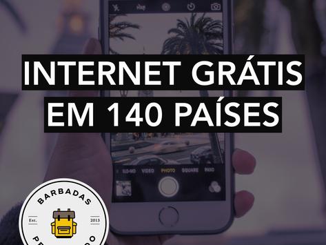 GANHE UM CHIP COM 30 DIAS DE INTERNET ILIMITADA PARA USAR EM 140 PAÍSES