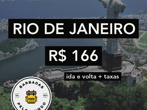 RIO DE JANEIRO A PARTIR DE R$ 166
