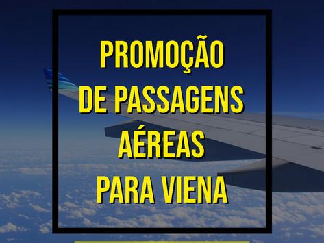 PASSAGENS AÉREAS PARA VIENA A PARTIR DE R$ 1306