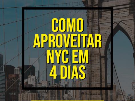 COMO APROVEITAR NOVA YORK EM 4 DIAS