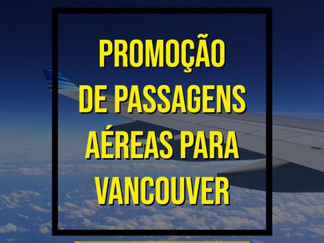 IMPERDÍVEL PASSAGENS AÉREAS PARA VANCOUVER A PARTIR DE R$995