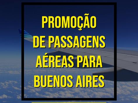 PASSAGENS AÉREAS PARA BUENOS AIRES A PARTIR DE R$ 500