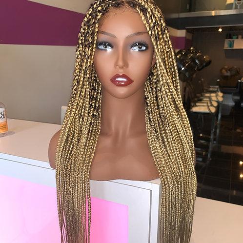 Box Braided wig