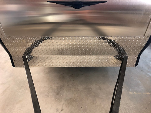 Diamond Plate Gravel Guard