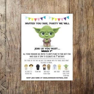 Andy Star Wars Birthday