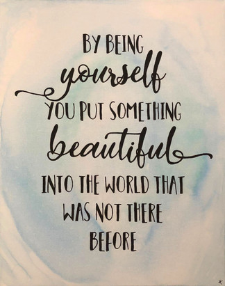 being-yourself