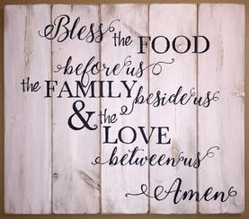 bless the food (i)