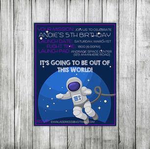 andie space birthday