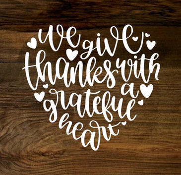 grateful heart (wood panel)