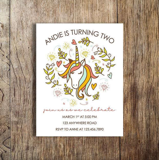 andie unicorn birthday