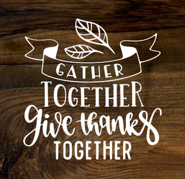 gather together (wood panel)