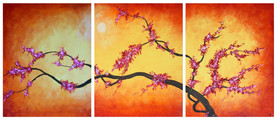 amber blossoms