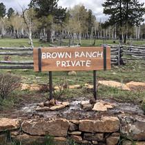 Private neighborhood sign
