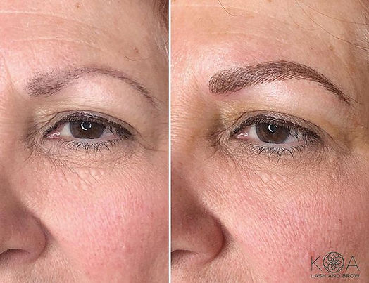 From past tattooed brows (not my work) t