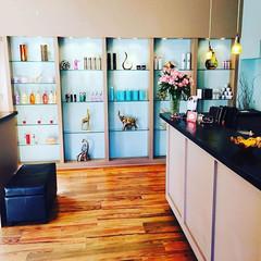 Salon Reception Area