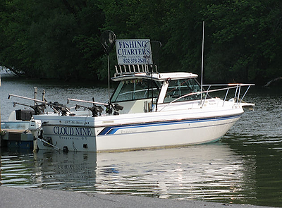 Picture of Fishing Charter Boat
