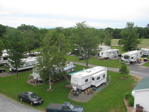 Aerial picture of RV Park