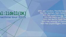 marstal:lidell - europe tour 2015