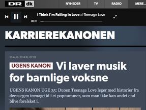 Feature article on Danish National Radio