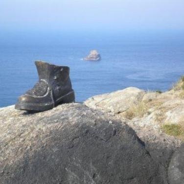 Cap Finistere, Verdens Ende, Galicien, Spanien